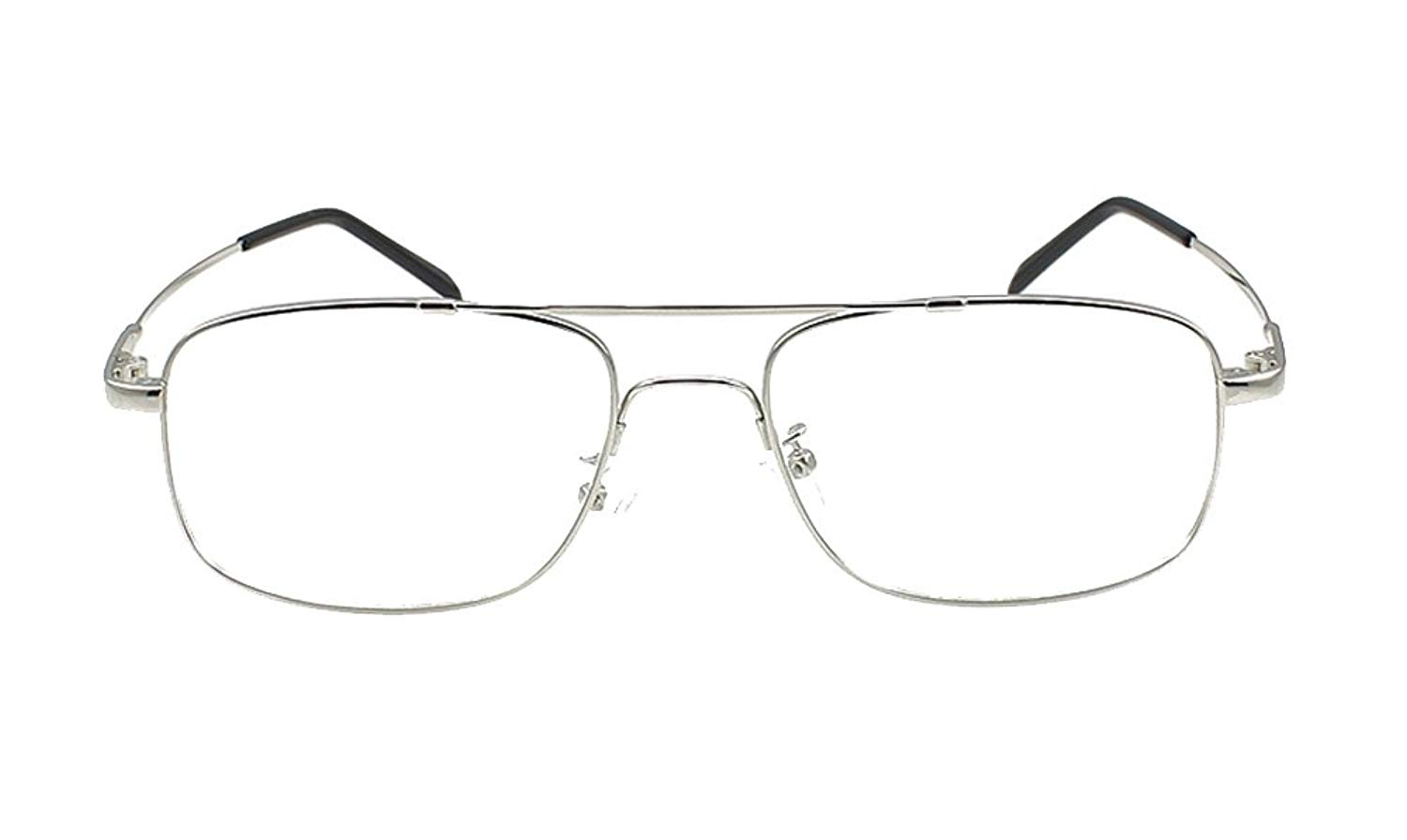 ef1d02b0b5 Get Quotations · Agstum Aviator Full-flex Memory Titanium Optical  Eyeglasses Frame