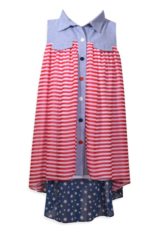 5f2c4e9c78 Get Quotations · Bonnie Jean Girls Patriotic Americana Dress 4-6X