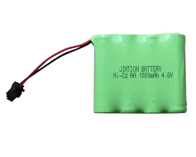 ni cd battery pack AA 4.8v 1000mah rechargeable