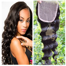 elegent 4*4 highest quality virgin hair for wedding lace closure bleached knots