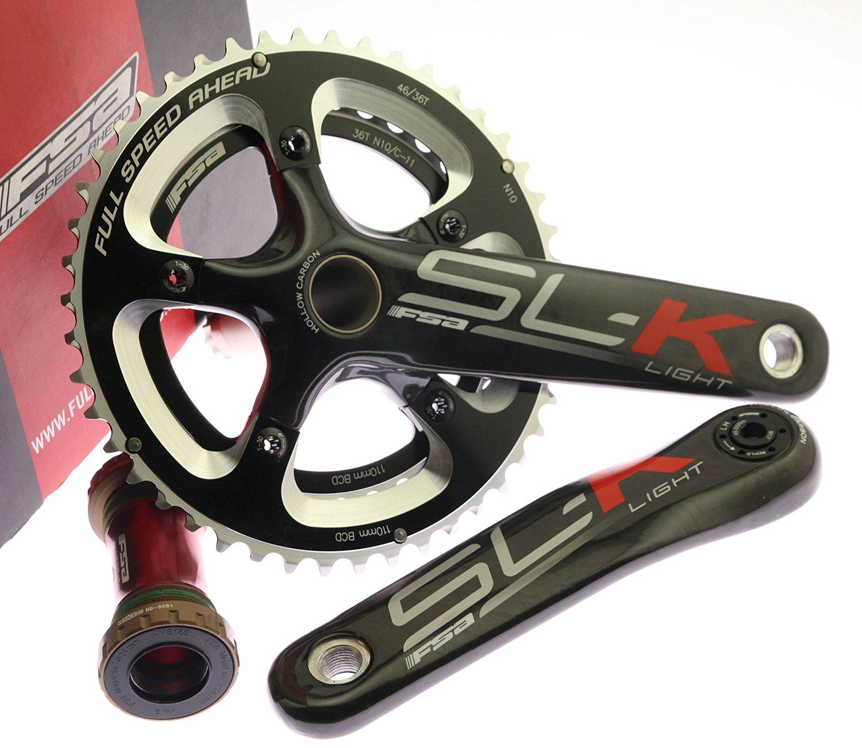 ecbdf4f7437 Buy FSA SL-K Carbon CX Cyclocross Bike Crankset + MegaExo BB N10 46 ...
