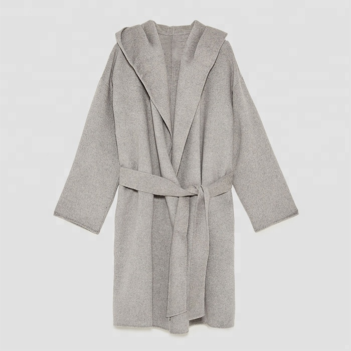 High quality double faced cashmere overcoat