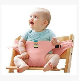 Chair Portable Infant Seat Dining Baby Seat Safety Belt Feeding Baby Sling High Chair Harness