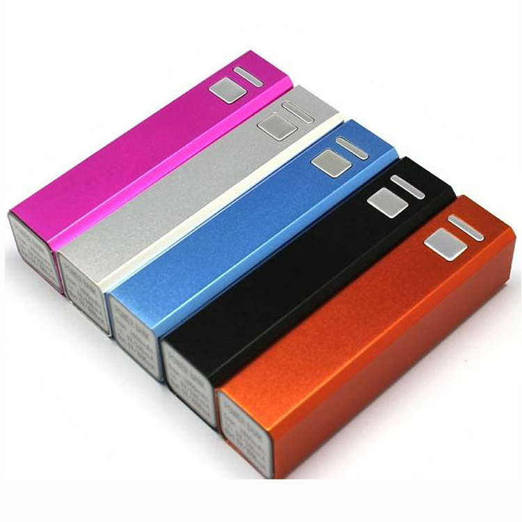30% Off Factory Good Price 2600Mah Usb Fashion Power Bank Customized Style For Your Own Company