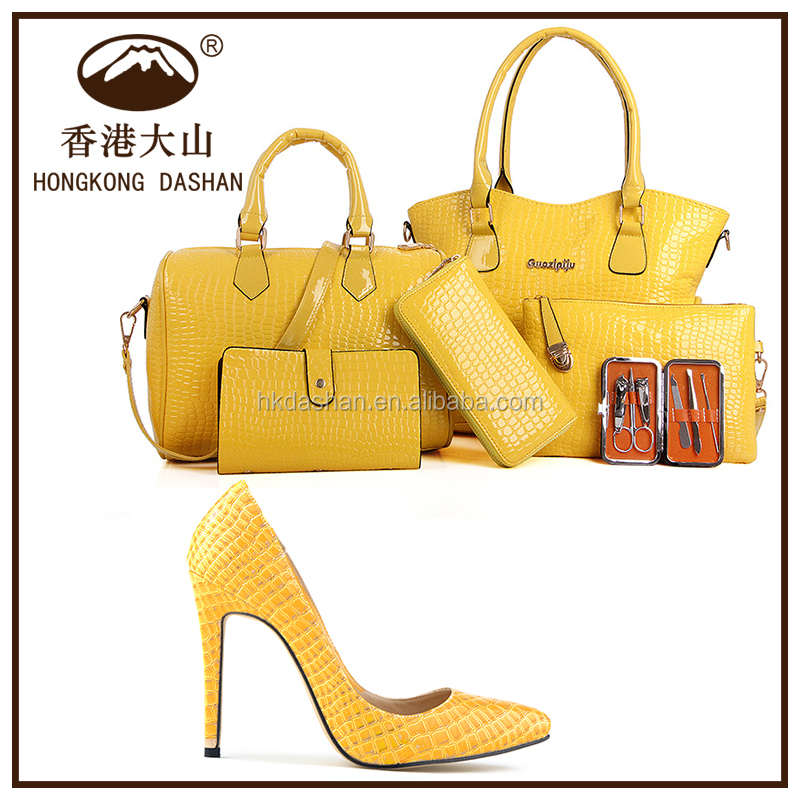 Y71 Bag And Shoes Set 6 For Women In Handbags Match Whole Made