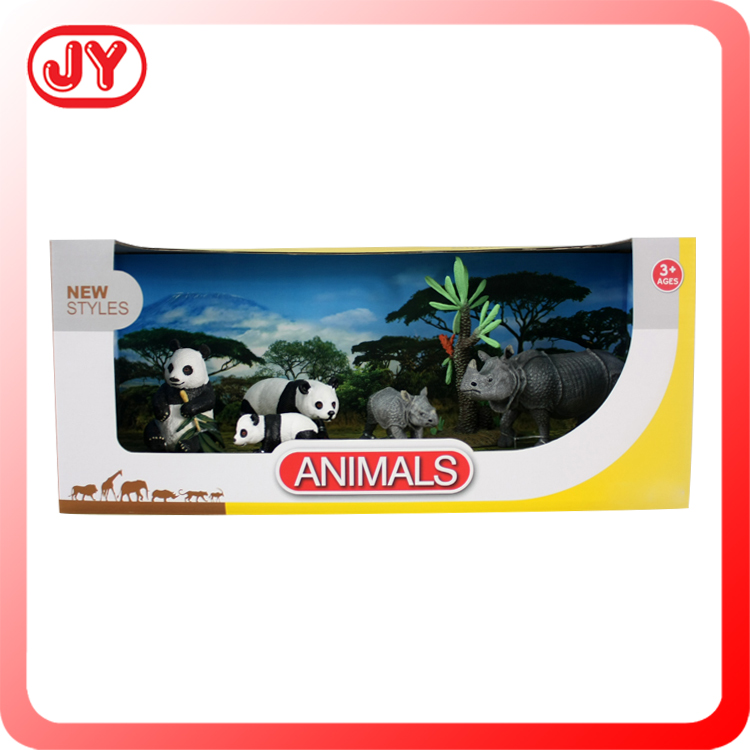 Non-toxic material hot sell plastic animals set
