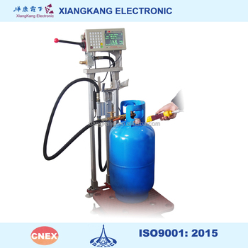 Platform Lpg Wireless Filling Gas Cylinder Weighing Scale ...