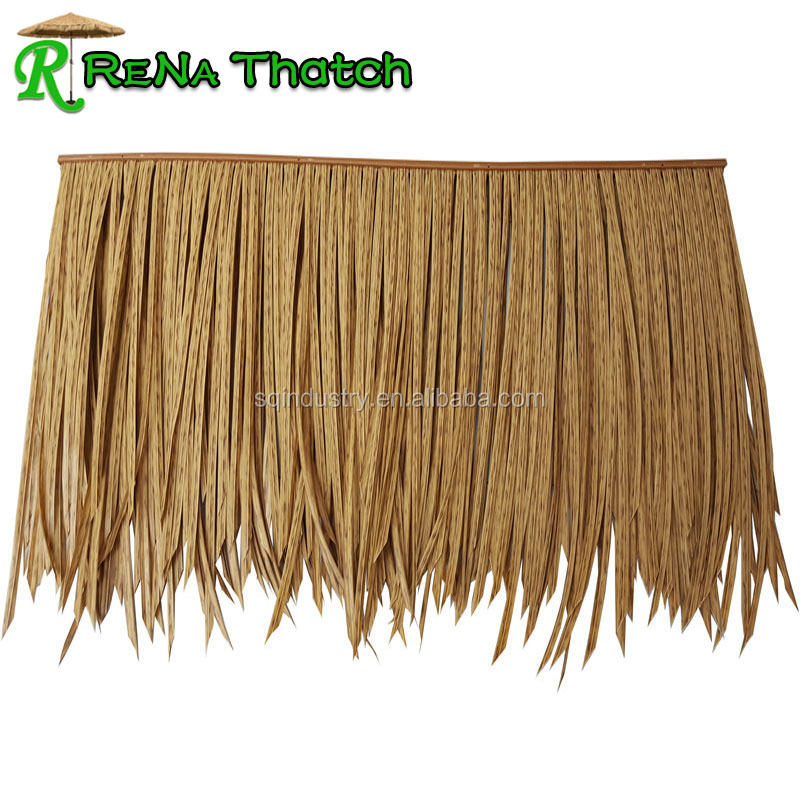 Factory Direct synthetic artificial thatch roofing
