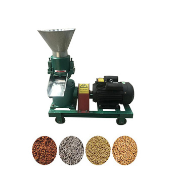 120 type capacity 60-80 kg per hour cattle animal feed pellet processing making machine