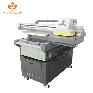 3 head a4 digital flatbed uv printer round 3d effect