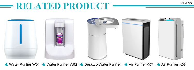 portable water dispenser Water Filters 4 Stages Desktop Water Purifiers