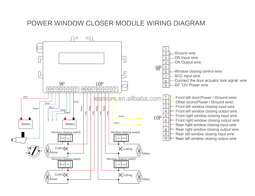 power window module closer wiring diagram example electrical rh huntervalleyhotels co Universal Power Window Wiring Diagram Power Window Switch Wiring Diagram for 2001 Chevy Cavalier