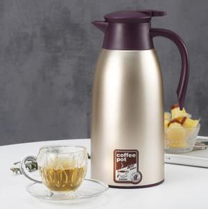 Wholesale stainless steel coffee pot vacuum insulated thermos 1.5l tea coffee pot