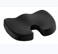 For Back Pain Relief&Tailbone Pain Back Support,100% Memory Foam Home Office Truck Driver Chair Pillow Car Seat Cushion