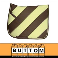 Horse tack new equine horse tack wholesale scale quilted saddle pad with fashion design horse tack,top quality,multi-colors