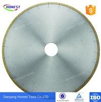 diamond saw blade silver brazed 12-inch ceramics blade china manufacturer