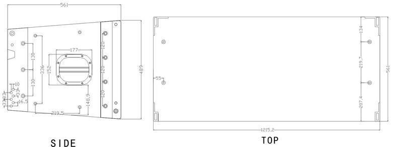 powerful dual 15 inch line array speaker design