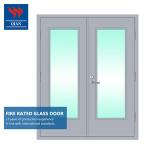 Apartment exterior fire rated frosted glass doors price for front door outside main glass door