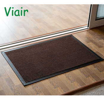 Low Profile Waterproof Outdoor Coffee Door Mat Washable Outdoor Rugs