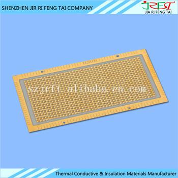 Metallized Pcb Aln / Alumina Ceramic Substrate For Multilayer Circuit Board  - Buy Alumina Ceramic Substrate,Aln Ceramic Substrate,Metallized Alumina
