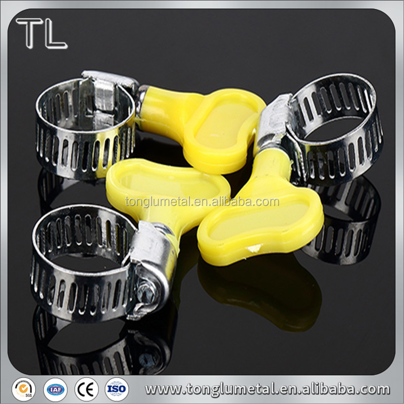 wing nut american type taiwan butterfly hose clamp sizes chart price
