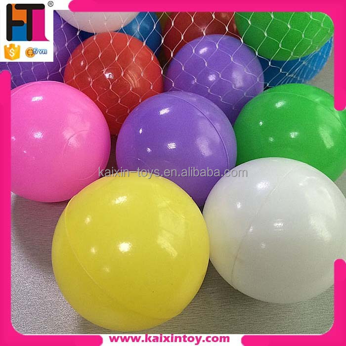 10210848 hollow crush proof plastic wholesale ball pit balls for kids