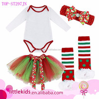 Baby Girls My First Christmas Tree Romper Fancy Dress Up Outfit Set Clothing Cute Baby Girl Name Picture