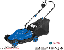 AWLOP 1800W Electric multi-position height adjustment Lawn Mower With Grass Catcher