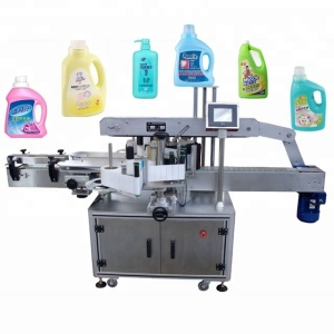 semi automatic labeling machine cheap price for flat and round bottle paper sticker