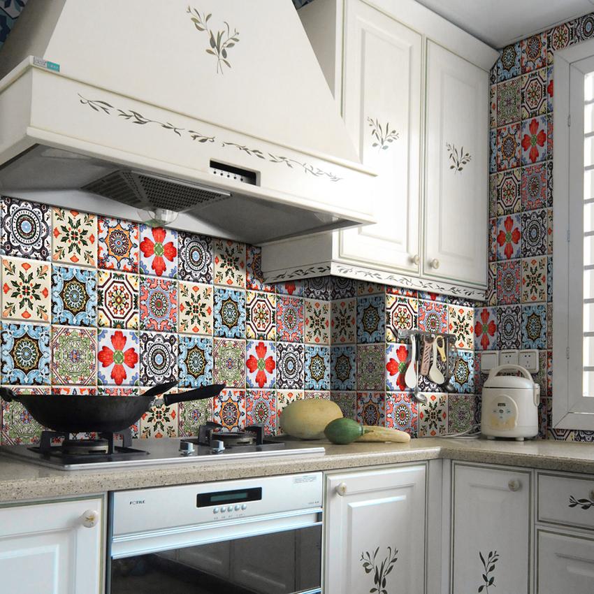 ZTBO-007 waterproof tile sticker for home decor