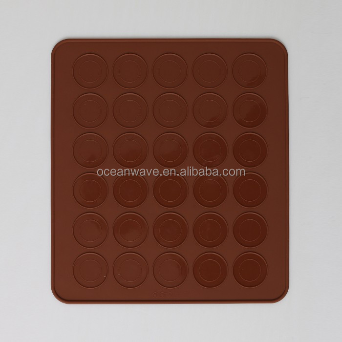 backing accesory silicone mat for rolling dough