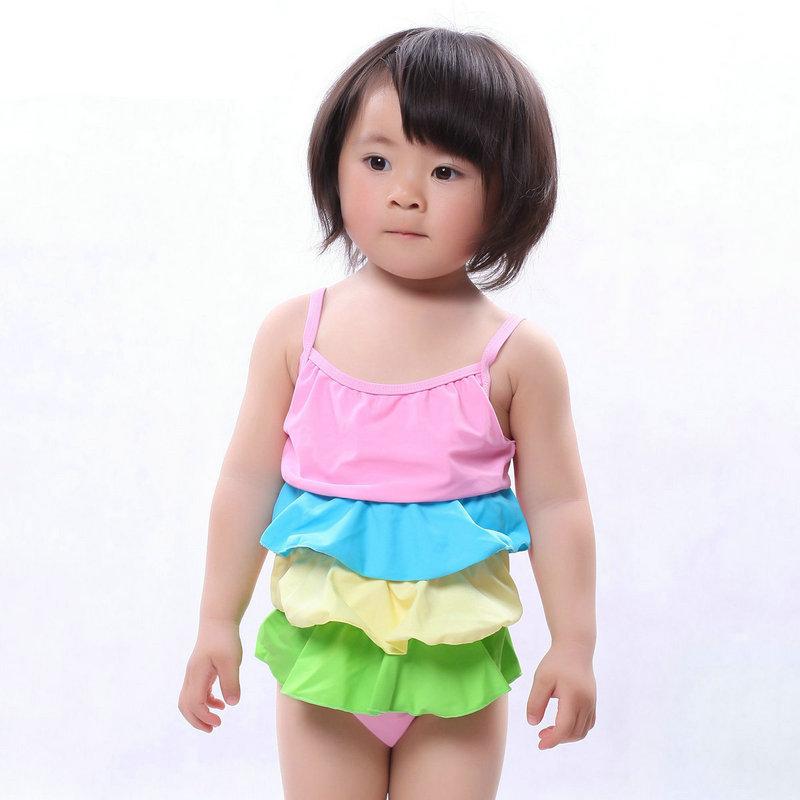 ea3fcfce39 Buy On Sale Brand New 2015 Summer Style Sexy Female Child Swimsuit Lovely  Falbala Skirt Girls Bathing Suit Kids UV Swimwear Hot Sale in Cheap Price  on ...