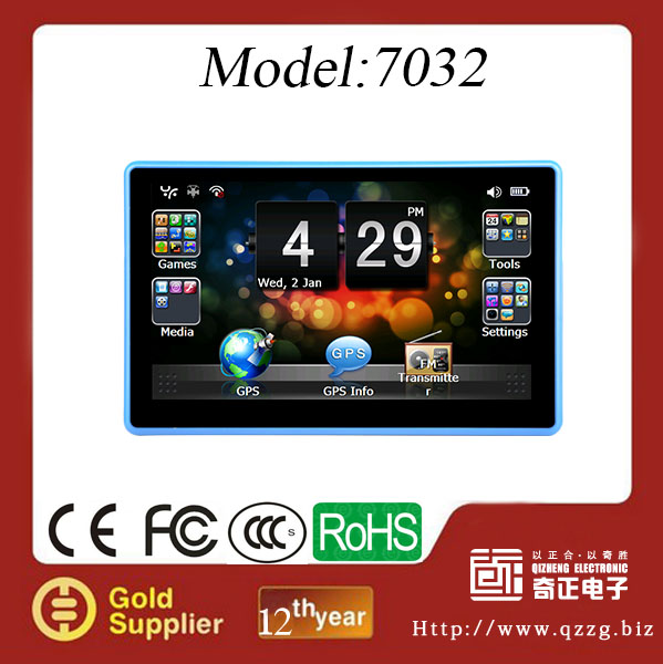 2014 Wholesale Checkout 7 inch malaysia map navigation with 800MHz CPU 4GB Memory only $33