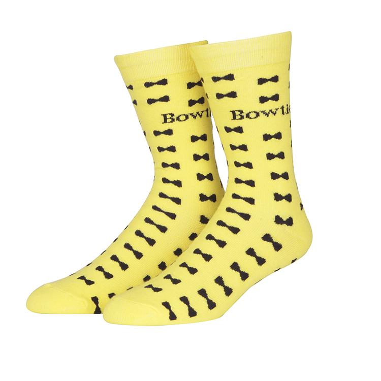 Custom Jacquard Dri Fit Soft Knit Pop Bow Socks Dropshipping For Adult