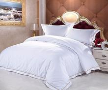 Embroidered luxury four seasons hotel comforter/duvet cover bedding sets