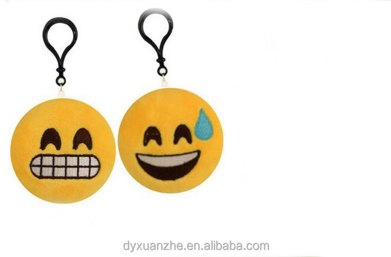 Yellow Smiley Keychains China