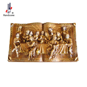 Hot Ing Tapestry Last Supper And Wall Resin Art Sculpture