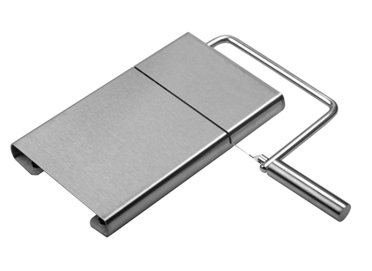 Stainless steel cheese cutter manual cheese board slicer