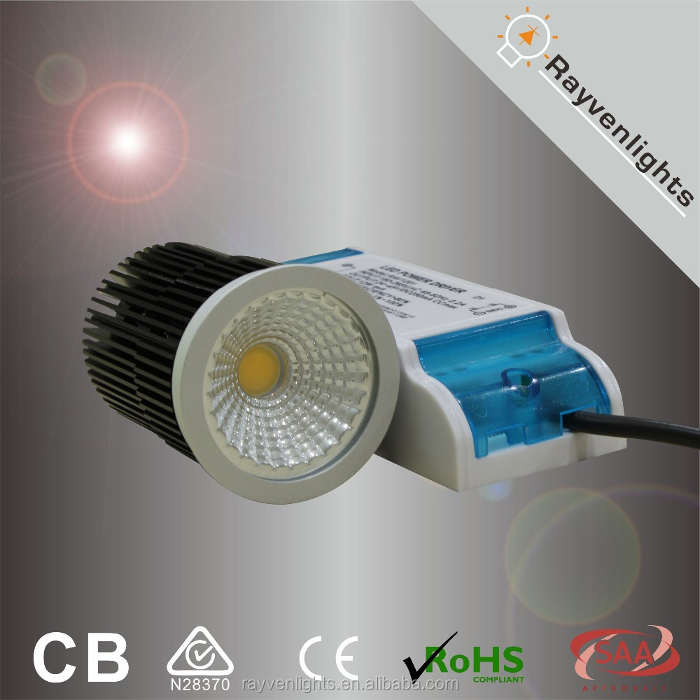 halogen replacement 10W dimmable COB recessed spotlight led