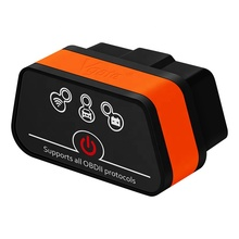 OBD2 Diagnostic Tool Vgate iCar2 <span class=keywords><strong>ELM327</strong></span> Wifi 대 한 IOS iPhone/안드로이드/PC icar 2 wifi ELM (327 OBDII code Reader factory price