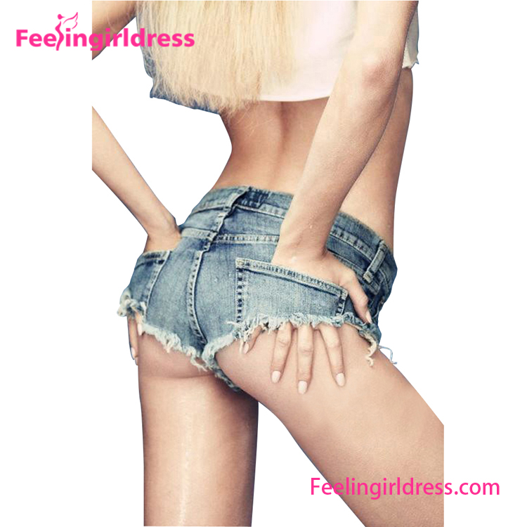 Sexy Denim Mini Shorts Women Tight Jeans Short Skin Tight Shorts ...