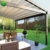 Fengxin Customized  retractable roof systems pvc pergola awning