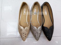 Wholesale women shoes flat slip-on casual shoes for ladies