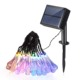 20/30/100 LED Outdoor Solar Lamps LED String Lights Fairy Holiday Christmas Party Garlands Solar Garden Waterproof Lights