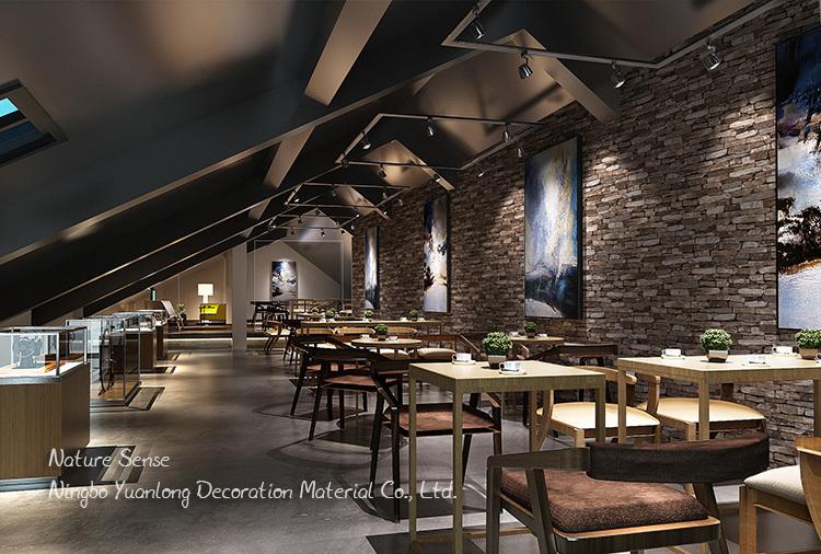 53CM Nature Sense White Vinyl 3d Wallpaper Brick Stone Design For Home  Restaurant Natural Commercial
