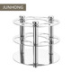 High quality wall mounted single tumbler holder stainless steel cup holder bathroom desktop toothbrush rack set