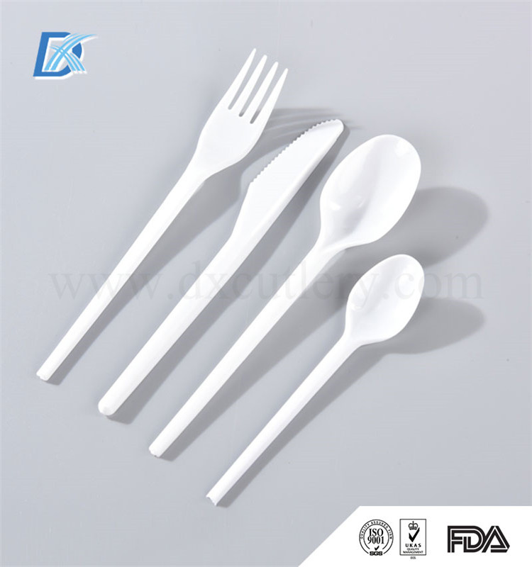 New Brand Competitive Price Top Quality Plastic Cutlery Airline Cutlery 72 pcs Gottinghen Cutlery Set