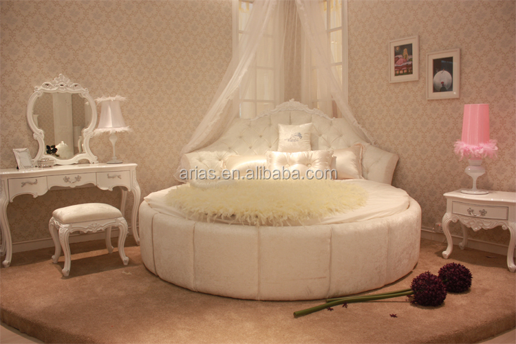 Delightful High Quality 6328# Round Bed Of Modern Bedroom Furniture Part 31