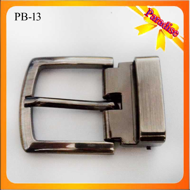 PB13 Attractive High Quality Custom Made Pin Belt Buckle Men Belt Buckle 30mm