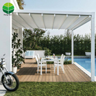 Low Price Outdoor Pergola Retractable Roof Canopies Polycarbonate
